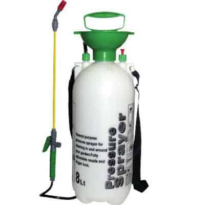 Am-Tech's 8 litre pressure sprayer is ideal for spraying larger areas and is ideal for home use. Its everything you would expect from a garden sprayer with a robust built and is excellent value for money. Not suitable for professional use.