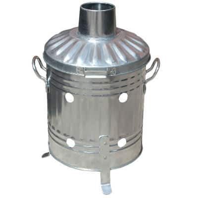 mini garden incinerator ideal for anyone who does not have the need or have the space to store a larger incinerator. Still made from Galvanised steel and uk main so made to the highest standard it ideal for burner smaller batches of rubbish.