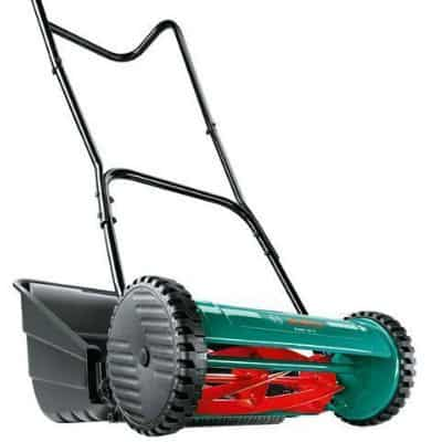 Bosch AHM 38 G Manual push mower review