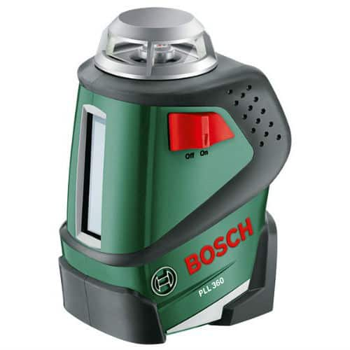 Bosch PLL 360 Cross Line laser review.