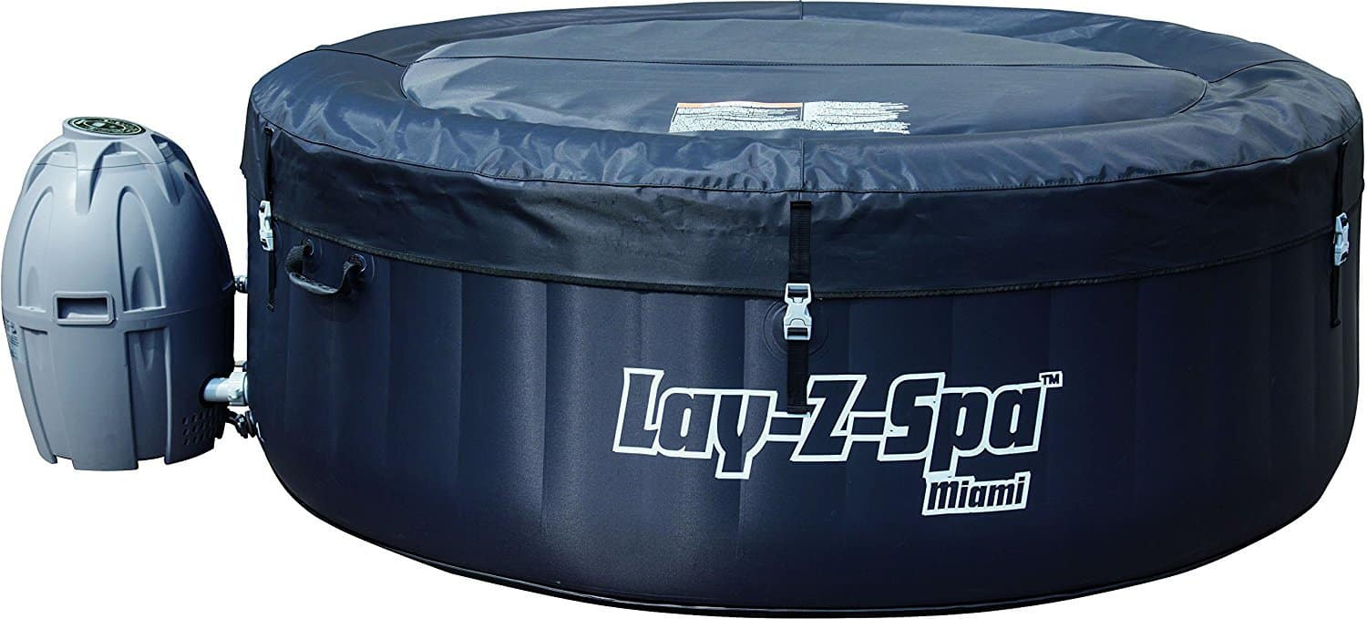 Lay-Z-Spa Miami inflatable hot tub cover