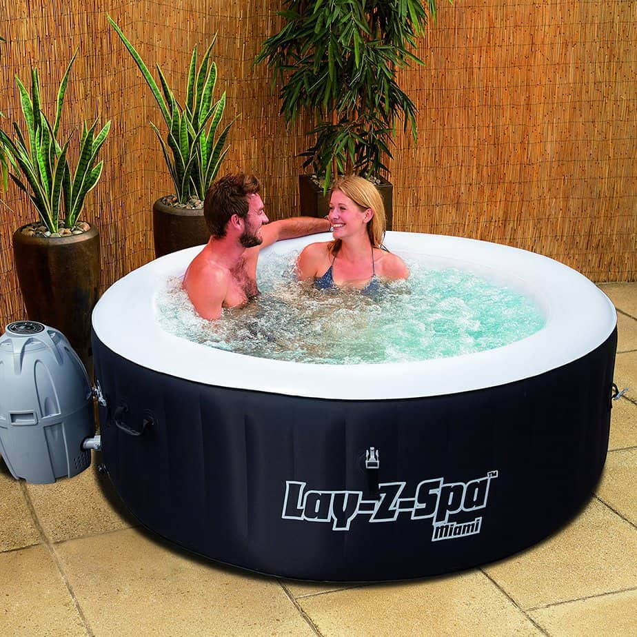 Best Budget Inflatable Hot Tub 0 Lay-Z-Spa Miami inflatable hot tub review