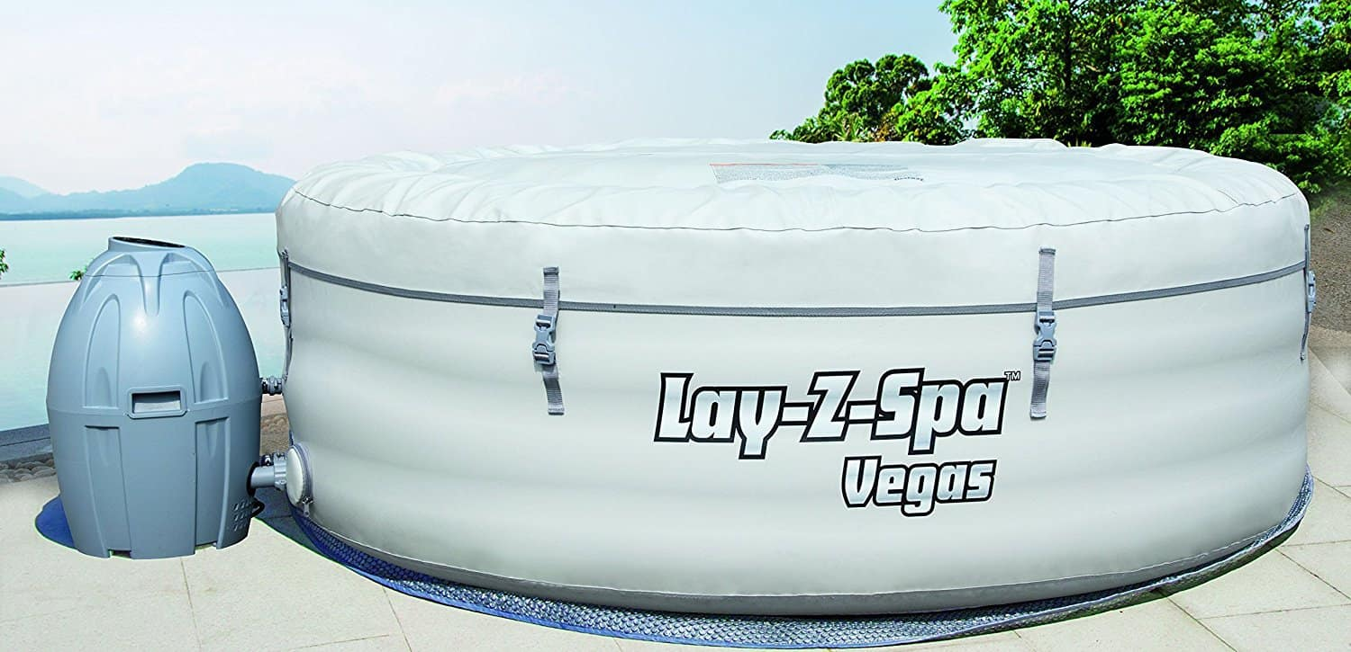 The Lay-Z-Spa Vegas Hot Tub is probably the most affordable 4-6 person hot tub which is one of the reasons we named it our 'Best Pick', you get a good sized hot, for a more affordable price without compromising on quality or its performance