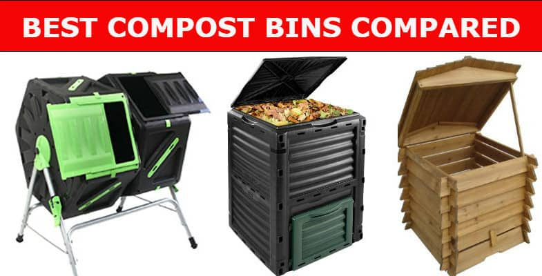 Top 7 Best Compost Bins & Tumblers For Garden and Kitchen Waste