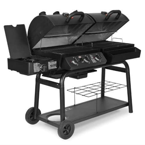 Char-Griller 5050 Duo Gas-and-Charcoal Grill Review