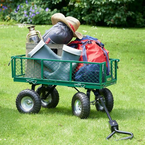 VonHaus All-Terrain Heavy Duty Garden Trolley Review