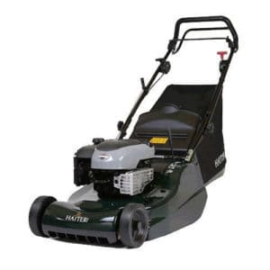 We decided the Hayter Harrier-48 19-inch Self Propelled Lawnmower was by far the best model for professional gardeners.
