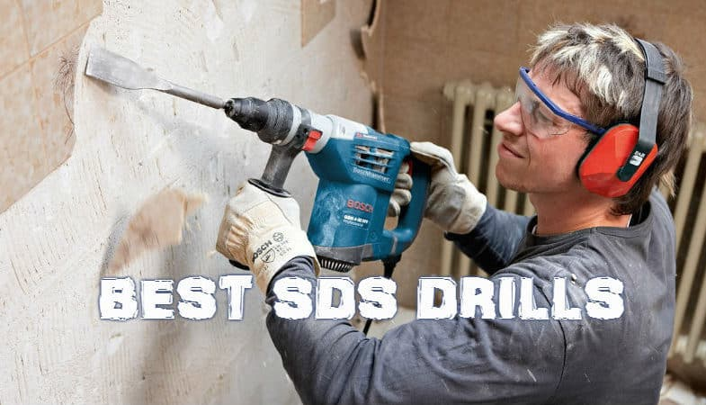 Top 10 Best SDS Drills including corded and cordless models