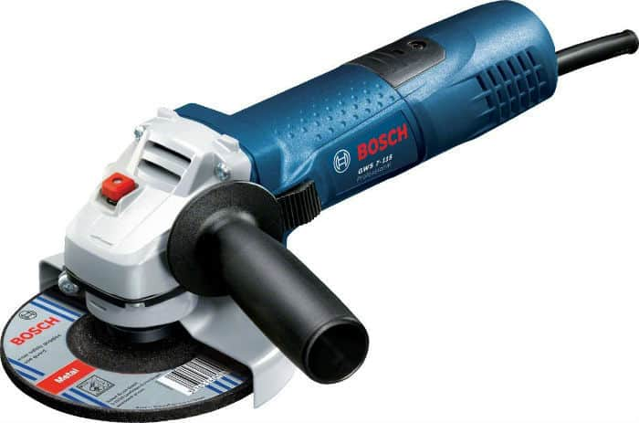 Bosch Professional GWS 7-115 Corded Angle Grinder Review