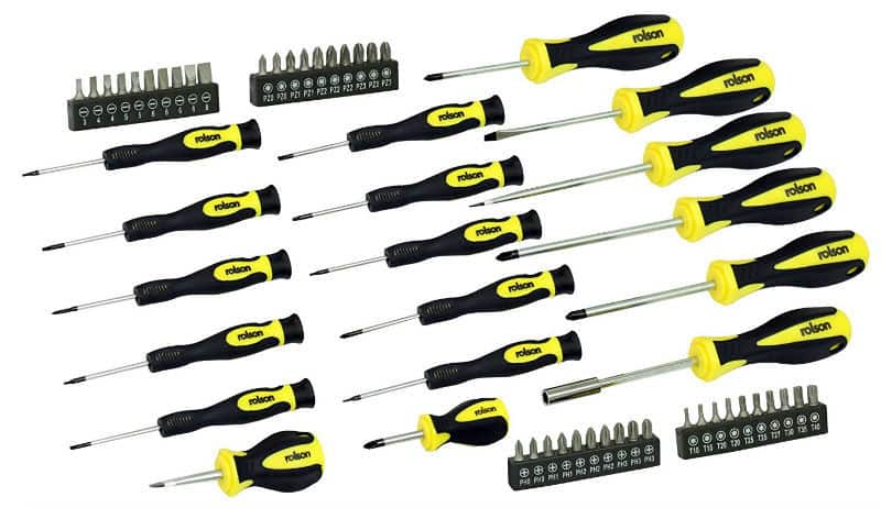 Rolson 28882 Screwdriver Set - 58 Pieces - Review