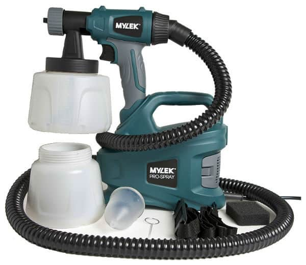 MYLEK PRO-SPRAY 700W Electric Paint Sprayer Gun Kit Review