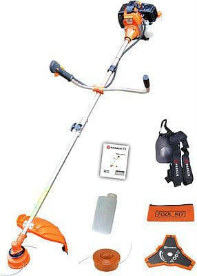 ParkerBrand 52CC Petrol Strimmer Garden Brush Cutter Trimmer Review
