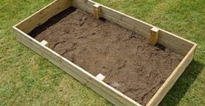 How to make raised beds - Step 1