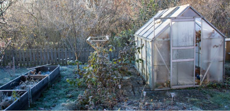 How to heat a greenhouse without electricity
