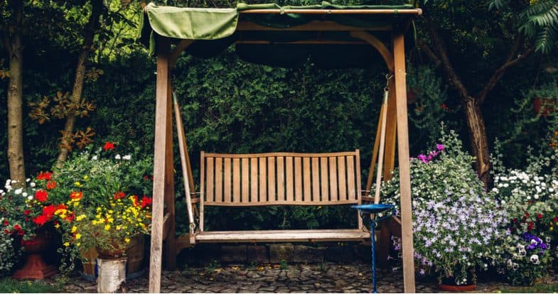 Best garden swing seats for relaxing