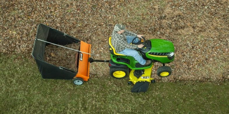 4 Best Tow Behind Lawn and Leaf Sweepers