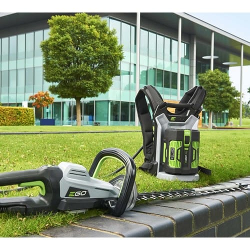EGO-Power-HTX7500-75cm-Cordless-Hedge-trimmer-with-backpack-battery