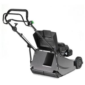 Hayter Harrier 48 Pro FS BBC Rear Roller Lawn Mower rear view