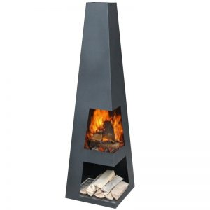 Hendry Steel Chiminea