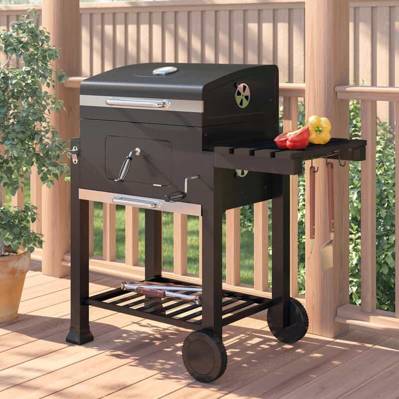 Symple-Stuff-41.6cm-Portable-Charcoal-Barbecue