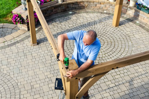 building arbour kit